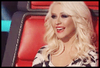 Christina nos shows ao vivo do The Voice