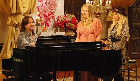 Christina e Jewel em The Voice