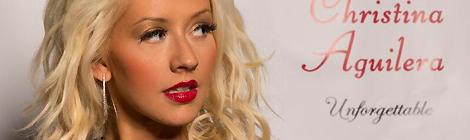 Christina no lançamento de Unforgettable