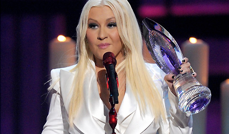 Christina no People's Choice Awards