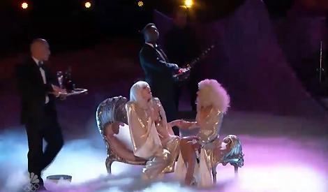 Cantando com Lady Gaga