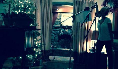 Em estúdio