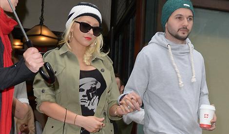 Christina e Matthew em Nova Iorque
