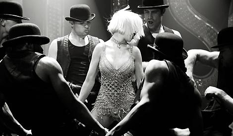 Christina em Burlesque