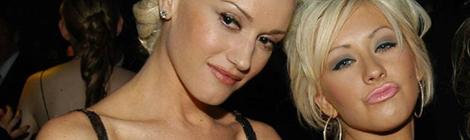 Christina e Gwen Stefani em 2005
