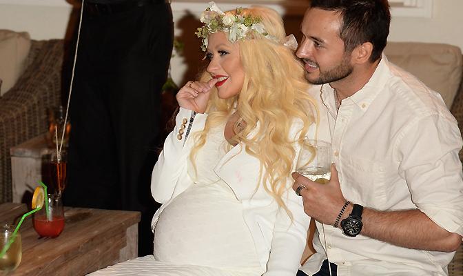 Christina anuncia o nascimento da primeira filha, Summer