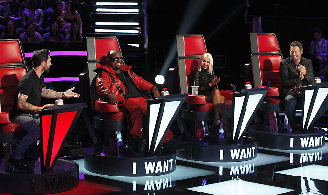 Mentores na 5ª temporada de The Voice
