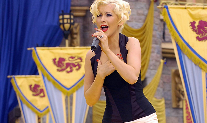Cantando na Disney em 2005