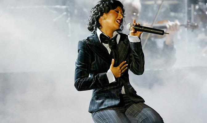 Christina no Grammy de 2004