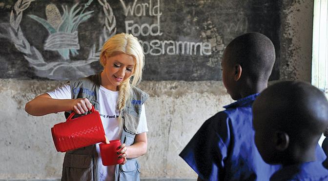 Em Ruanda pelo World Food Programme em 2013