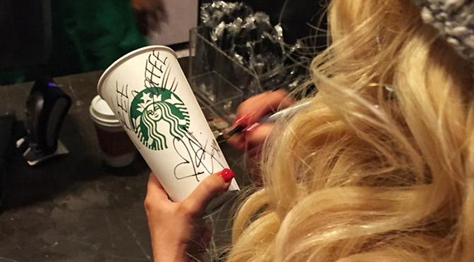 Ação de Christina no Starbucks foi espontânea e surpreendeu empregados e clientes
