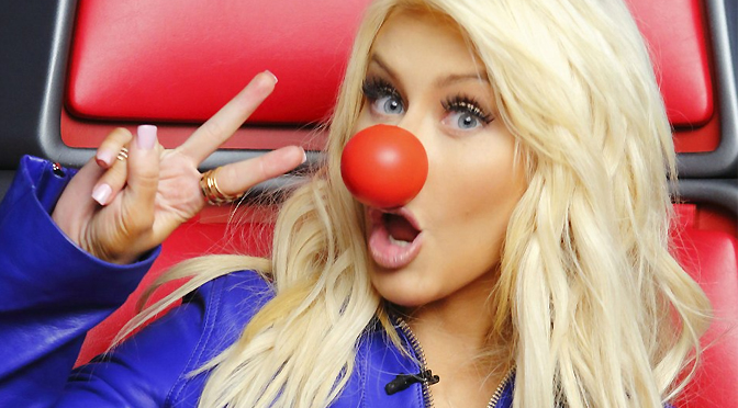 Promovendo o Red Nose Day