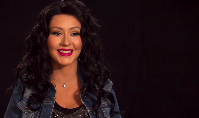 Christina fala sobre voltar a ser morena em Nashville