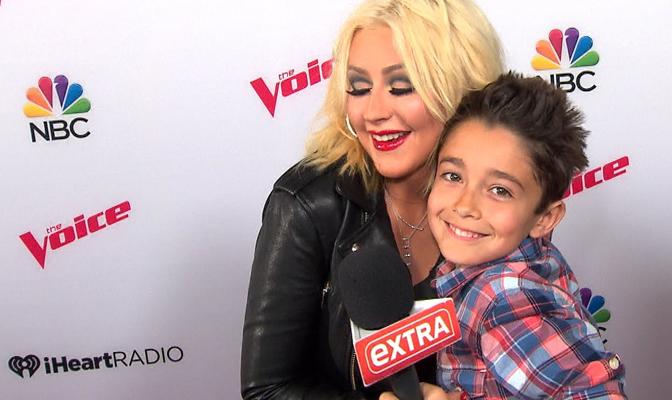 Vídeo – Christina é entrevistada por repórter mirim