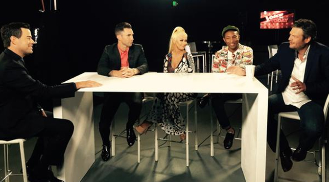 Técnicos do The Voice em entrevista