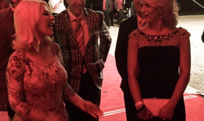 Fotos – Christina e Matthew no Hermitage Grand Gala