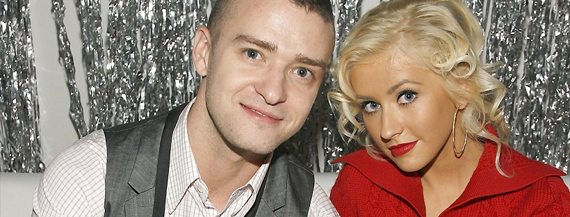 Com Justin Timberlake em 2006