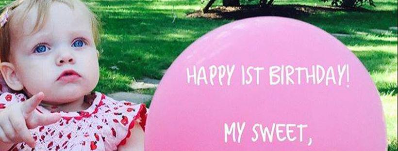Summer e seu primeiro aniversário