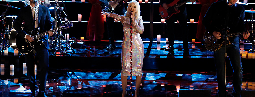 Performance de The Thrill is Gone no The Voice em 2015